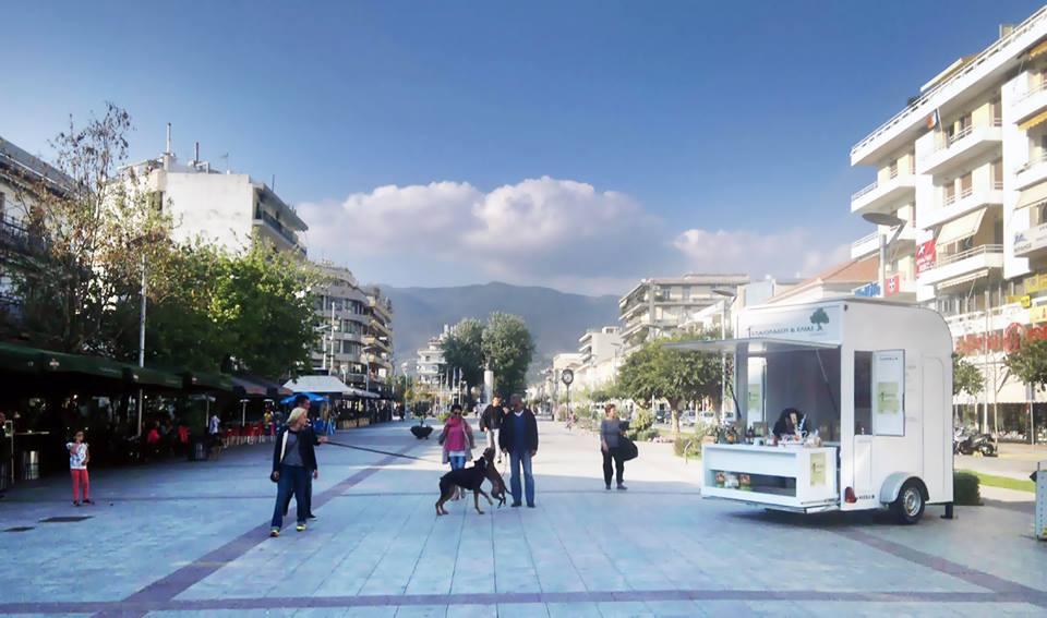Η ελληνική καντίνα της Caheeba στην Καλαμάτα